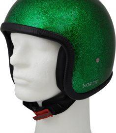 North Virus jethjälm flake grön