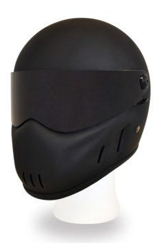 Outlaw helmet mattblack