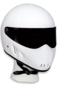Outlaw helmet white