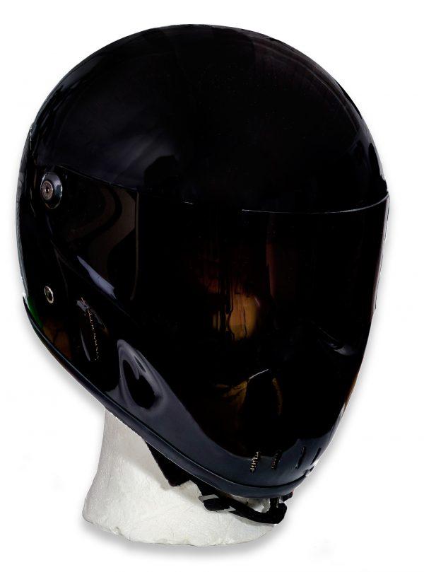 Outlaw helmet shiny black