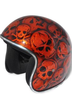 North Virus Superflake Orange skulls