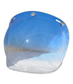 Bubbelvisir blå