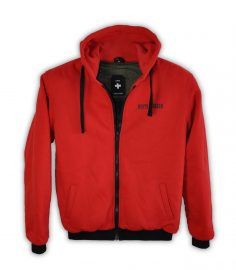 Kevlarhoodie Alfie Red