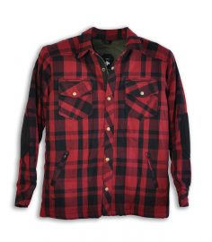 Kevlarskjorta Lumber Winered/black