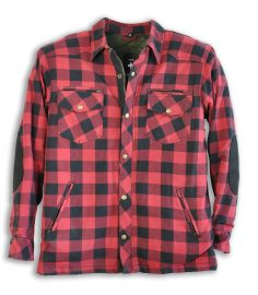Kevlarskjorta Lumber red/black