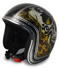 North Virus Superflake big scull black