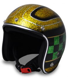 North Virus Superflake Gold green checker