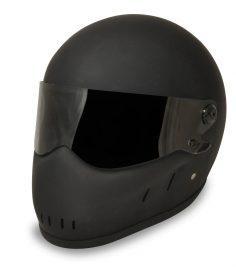 Outlaw helmet matt black