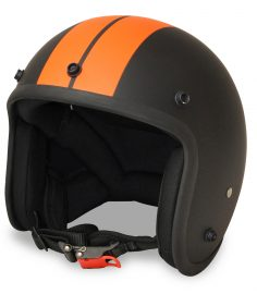 North Virus Matt black Orange stripe