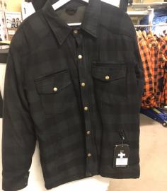 Kevlarskjorta Lumber Dark grey/black